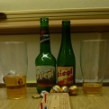 Beer, crib and Mozart's balls