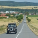 The scenic route more than lived up to expectations as we headed for Svitavy