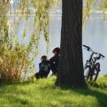Beautiful lake near Vesoul - 3rd stop