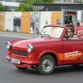 Clearly it's mandatory to wear shades on a Trabi Safari