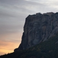 Our first glimpse of the wonder that is Meteora