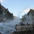 Hot springs near Lamia