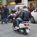 Many mopeds
