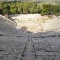 Ancient amphitheatre at Epidavros