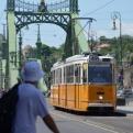 The Szabadság híd (Freedom bridge) in Budapest