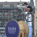 A trial biking competition that we stumbled across in Krakow