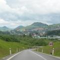 Beautiful scenery as we entered Slovakia