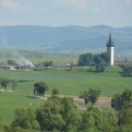 Lovely landscape as we approached Slovenský Raj National Park