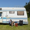 Making the most of the campsite in Slovenský Raj