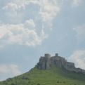 Fantastic castle as we drove down towards Hungary