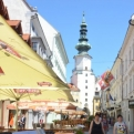Blue sky and sunshine in Bratislava