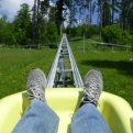 Testing the toboggan run