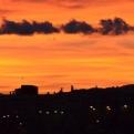 Amazing sunset over Ibi