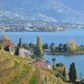 Montreux in the distance