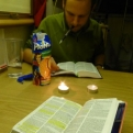 Bibles and biscuits; a great combination