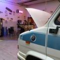 A very cool garage!